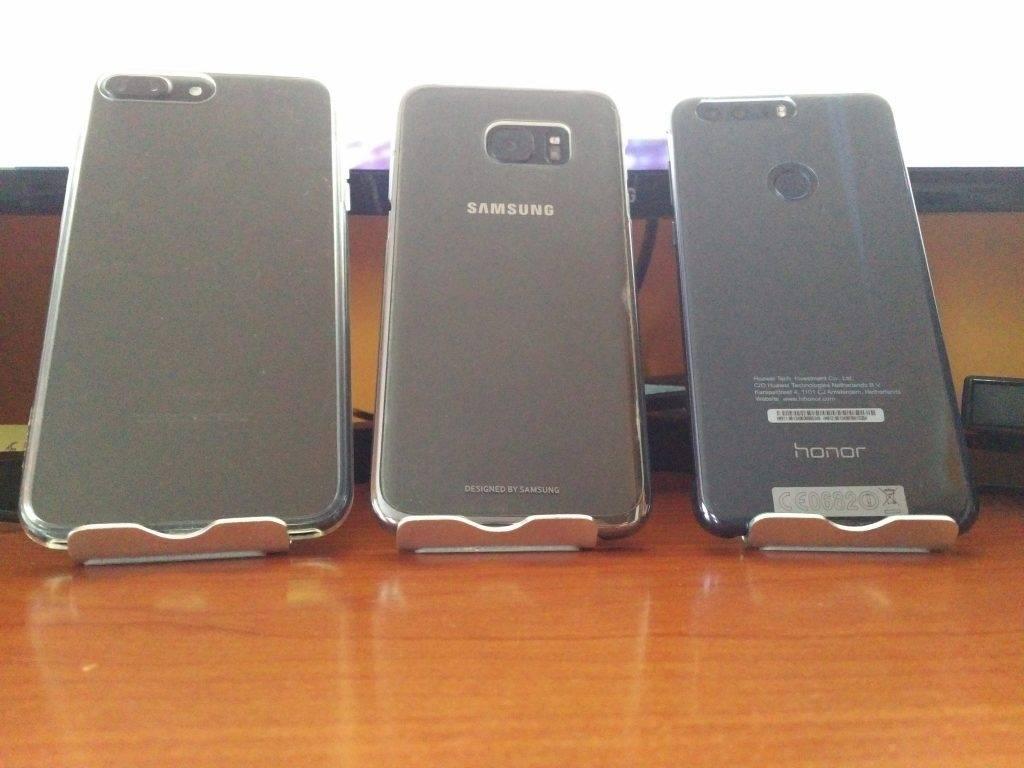fotocamere Apple, Samsung, Honor