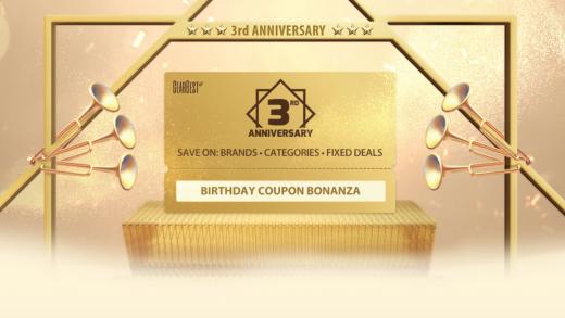 Gearbest festeggia il 3° anniversario con una valanga di Coupon Sconto