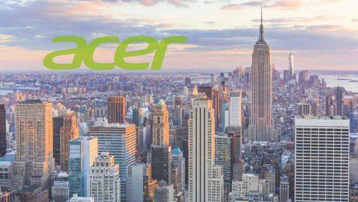 Acer, le novità sotto il cielo newyorkese