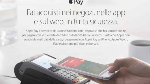 Apple Pay arriva in Italia con Visa, ma non per tutti!