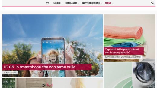 Nasce LG MAG, il nuovo magazine on line di LG Italia