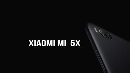 Xiaomi Mi 5X Snapdragon 625 e 4GB di RAM