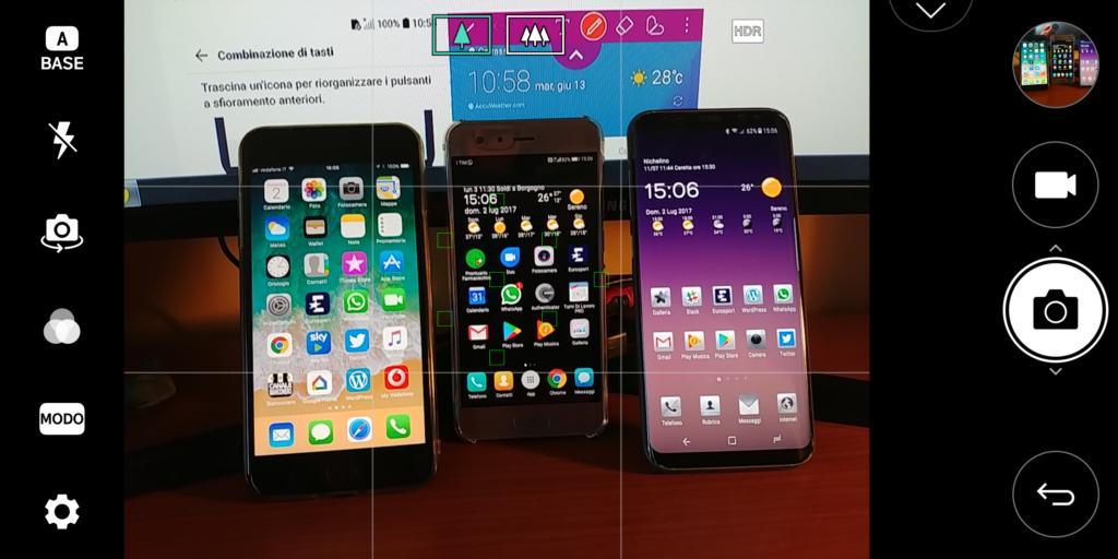 LG G6 interfaccia