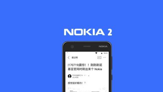 Nokia 2 si mostra in un confronto con Nokia 3 | Base di gamma con processore Snapdragon 212