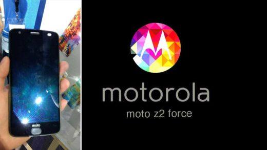 Moto Z2 Force si mostra in foto