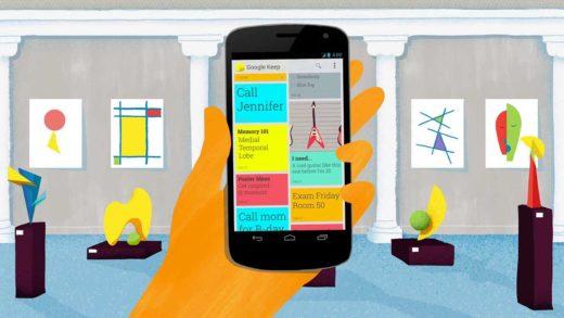 Google Keep si aggiorna ed introduce i tasti Ripristina e Annulla