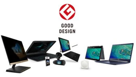 "Acer conquista otto Awards ""Good Design 2017"""