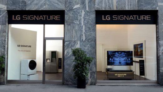 LG SIGNATURE apre il suo primo flagship store a Milano