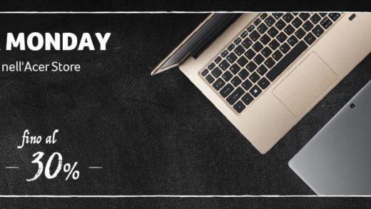 Gli sconti Acer continuano con il Cyber Monday