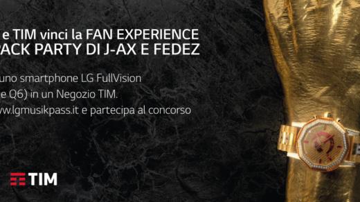 """LG regala i """"Repack Party"""" di FEDEZ e J-AX"""