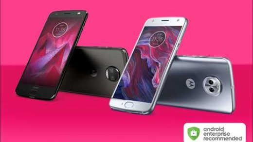 Motorola scelta dal programma Android Enterprise Recommended