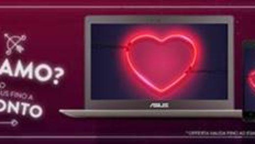 ConnetTIAMO? Regala la tecnologia ASUS a San Valentino