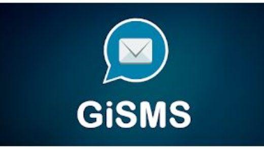 GiSMS, l'applicazione per chi non ha un piano SMS