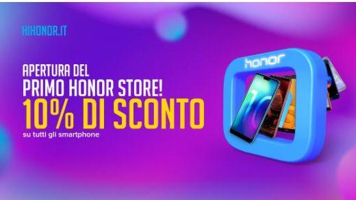 Honor apre il suo primo store monobrand a Arese