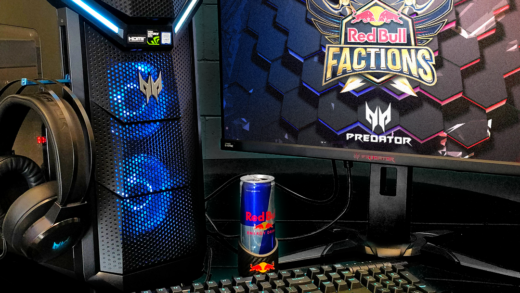 Acer Predator brand sponsor Red Bull Factions