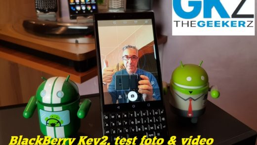 BlackBerry Key2, vediamo come vanno i test foto & video