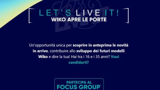6 Maggio: Wiko apre le porte al primo focus group