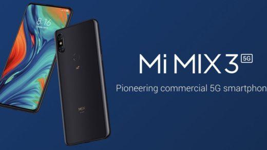 Xiaomi Mi MIX 3 5G è il primo smartphone 5G ad essere venduto in Italia