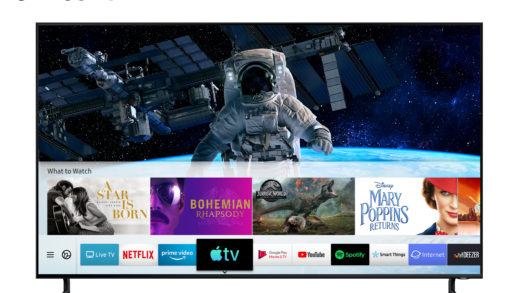 Samsung lancia Apple TV e il supporto AirPlay 2
