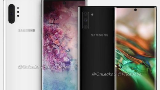 Galaxy Note 10: tre livelli di apertura focale per le fotocamere