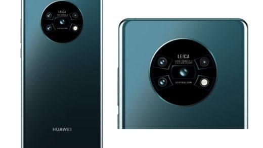 Huawei Mate 30 (Mate 30 Pro) mostra la fotocamera circolare