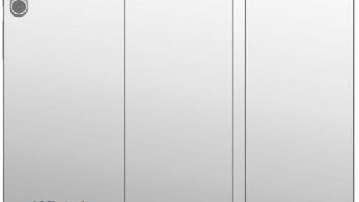 LG brevetta un dispositivo con doppio display pieghevole
