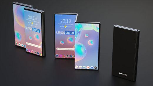 Samsung sta pensando ad un dispositivo dual-foldable