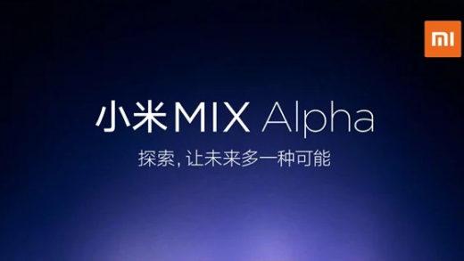 Xiaomi MiMix Alpha